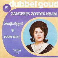Cover Zangeres Zonder Naam - Keetje Tippel