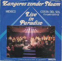 "Cover Zangeres Zonder Naam - Mexico ""(Live)"""