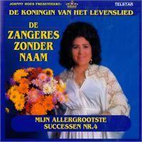 Cover Zangeres Zonder Naam - Mijn allergrootste successen Nr. 4