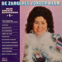 Cover Zangeres Zonder Naam - Mijn eerste successen 1