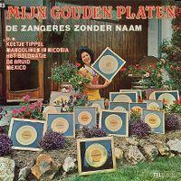 Cover Zangeres Zonder Naam - Mijn gouden platen
