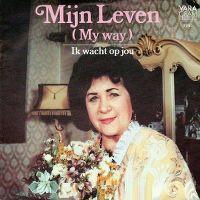 Cover Zangeres Zonder Naam - Mijn leven (My Way)