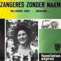 Cover Zangeres Zonder Naam - Millioenen ogen