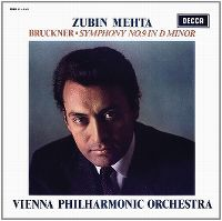 Cover Zubin Mehta / Vienna Philharmonic Orchestra - Bruckner: Symphony No. 9 In D Minor