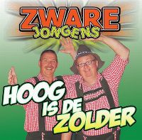 Cover Zware Jongens - Hoog is de zolder
