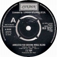 Cover ZZ Top - Arrested For Driving While Blind