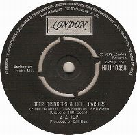 Cover ZZ Top - Beer Drinkers & Hell Raisers