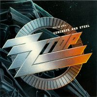 Cover ZZ Top - Concrete And Steel