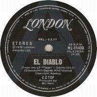 Cover ZZ Top - El Diablo