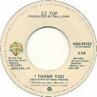Cover ZZ Top - I Thank You