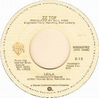 Cover ZZ Top - Leila