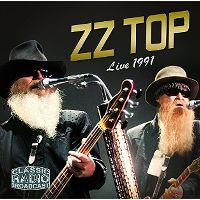 Cover ZZ Top - Live 1991