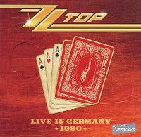 Cover ZZ Top - Live In Germany 1980
