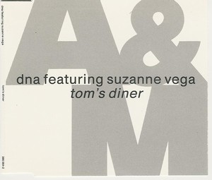 DNA Feat. Suzanne Vega - Tom's Diner (CD Maxi)
