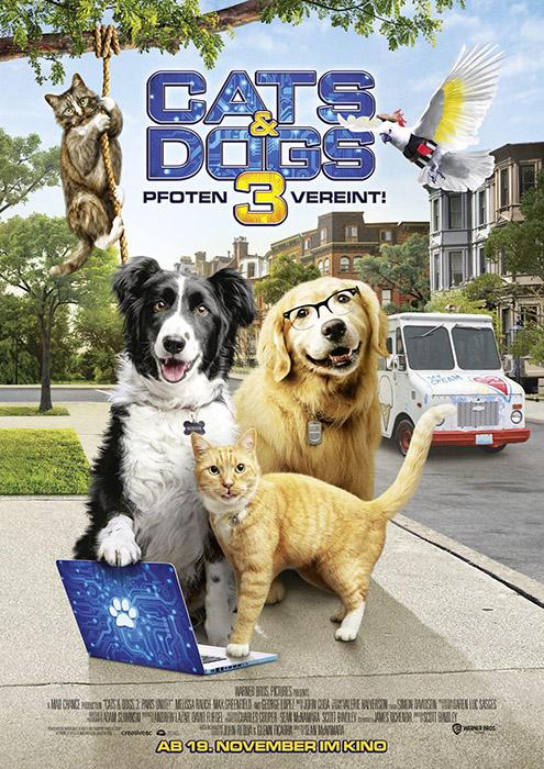 cats  dogs 3 pfoten vereint  filmchartsch